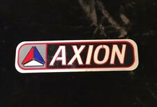 Axion Footwear Shoes Skateboard Sticker 1997 Nos Skate World Industries Duffs