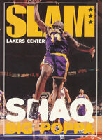 Shaquille O'Neal 1996-97 NBA Hoops #324 Los Angeles Lakers