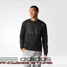 adidas Originals URBAN Mens Sweatshirt REFLECTIVE Logo Side Zips Camo Graphic XL