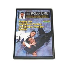 Modern Brazilian Jiu Jitsu #4 Beating Side Mounts Dvd Rodrigo Comprido Medeiros