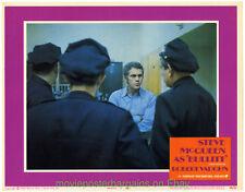 BULLITT LOBBY CARD Size 11x14 Movie Poster Card #5 Very Fine STEVE MCQUEEN 1968