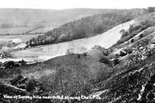 Rcv-26 Chalk Pits, Oxted, Surrey c1914. Photo