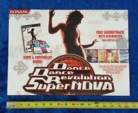DANCE DANCE REVOLUTION SUPERNOVA Video Game Store Display 2006 KONAMI Promo Sign