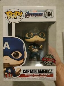 Captain America Funko Pop Avengers MCU Marvel - Special Edition 464 ***New***