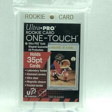 (1) Ultra Pro 35pt Gold Rookie Card One-Touch Magnetic Ultra Clear UV Pro Holder
