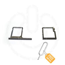 For HTC ONE M8 SIM Card Holder Tray & SD Memory Card Holder Tray Slot Reader