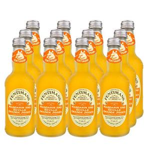Fentimans Mandarin and Seville Orange Jigger, 275 ml Pack of 12