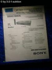 Sony Service Manual SLV SE230 SE430 SE630 SE730 SE737 SE830 SX730 SX737 (#5183)