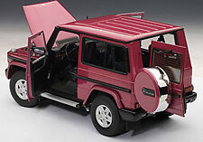 Autoart Mercedes Benz G Model 90'S Swb Red Color 1/18 Scale. In Stock!