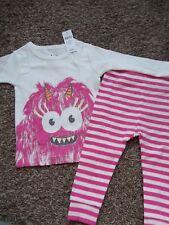 Baby Gap 2pc Monster Pajama's/Sleepwear~NEW~Sz 6-12 mo