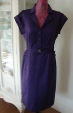 BNWT HUGO BOSS (black label)  PURPLE COAT DRESS size 12 - 14  UK, 10US   £425.00