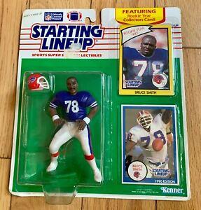 BRUCE SMITH  🏈 Buffalo Bills Starting Lineup SLU 1990 Figure & Card NIB