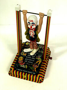 Mattel Music Maker Toy Trapeze Clown 1960s