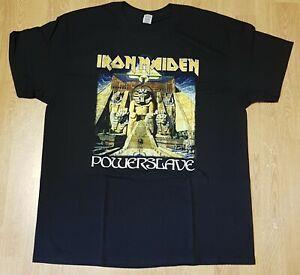 Iron Maiden Powerslave World Slavery Tour 1984-85 Official T-Shirt Size XL