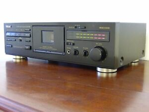 TEAC V-510 Dolby HX Pro piastra a cassette vintage REVISIONATA registratore