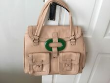 Orla Kiely Leather Bag Excellent New Condition