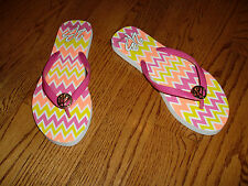 "NWT""2B bebe""Logo  DHR Basic Low Flip Flop Sandals Thong size L(9-10) Super Cute!"