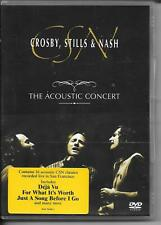 DVD ZONE 2--CROSBY STILLS & NASH--THE ACOUSTIC CONCERT