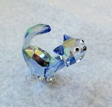 Swarovski Crystal Figurine #1120210 Tom The Cat Purple Cat RARE New in Box