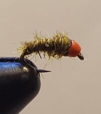 Fly Fishing Flies 12 Provo River Sow Bugs - Beaded Hot Spot size 18 - Nymph
