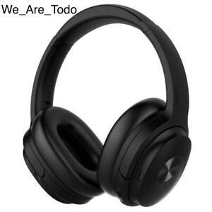 COWIN - Black - SE7 Active Noise Cancelling Headphones, Bluetooth, Leather