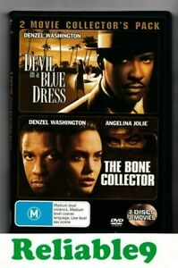 Denzel Washington- Devil in a blue dress+The bone collector 2DVD R4-2007 SonyAUS