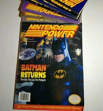 Nintendo Power Magazine 48 Complete Batman Returns with Bubsy Poster