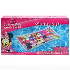 "Disney Minnie Mouse Girls Inflatable Swim Raft- 19"" x 48"""