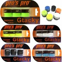 """Pros Pro Griffband """"Gtacky""""; Farben in 3er Sets wählbar (Overgrip Super-G-Tacky)"""