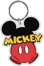 Disney Mickey Mouse Parts Unknown Lasercut Keychain Keyring Key Chain