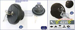 Tappo serbatoio per FIAT Panda169 dal 2003>Tappo Carburante con Chiavi Antifurto