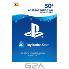 TARJETA PSN CARD 50€ - Código de descarga - Playstation Network PS4 50 Euro ES
