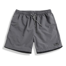 Men's Loose Casual Shorts Running Fitness Beach Quick-Drying Quarter Pants