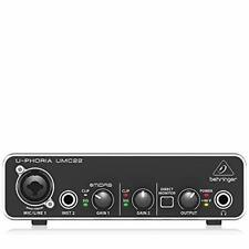 Computer Audio Interface Professional Audio Quality Popular Recording Software