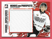 2011-12 Lucas Lessio ITG In The Game Heroes & Prospects Rookie Jersey /100