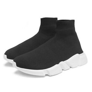 New Womens Designer Style Knit Speed Sock Runner Ladies Trainers Sneakers Shoes