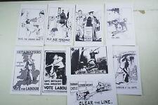0741: Political Postcards: Unions, Labour Party, Labour, Socialist, Propaganda