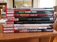 Huge Marvel Graphic Novel TPB Lot of 10. Hardcover and paperback trades