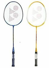 Yonex GR 303 Aluminum Blend Badminton Racquet Combo of Yellow Blue Pack Of 2