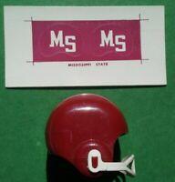 SINGLE Mississippi State Bulldogs Cornhole Wrap Skin Decal Vinyl Board NCAA NK34