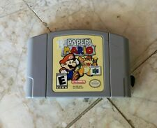 Paper Mario N64 Nintendo 64 Tested and Confirmed Working