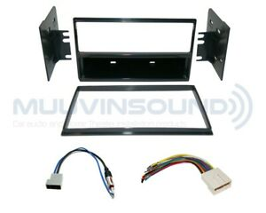 Radio Stereo Installation Dash Kit Single DIN & 2DIN + Harness + Antenna NI38