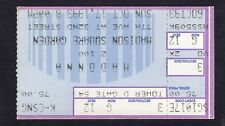 Madonna 1993 Girlie Show World Tour Concert Ticket Stub Madison Square Garden Ny