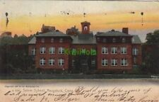Postcard Salem School Naugatuck CT 1906