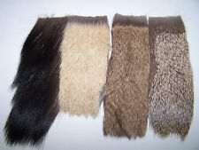 48 sq. in. Deer, Elk, Moose Hair, tanned, assorted natural, fly tying material