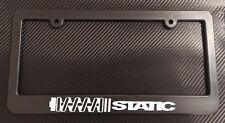 Static License Plate Frame Black - Choose Color!! jdm vip coilovers stance drop