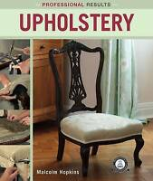 Upholstery by Malcolm Hopkins (Paperback) Book Professional Results
