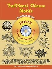 TRADITIONAL CHINESE MOTIFS cd-rom 261 roayalty free designs DOVER excellent