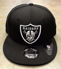 Raiders NFL New Era Basic 9FIFTY Snapback Hat Cap