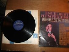ENGELBERT HUMPERDINCK  GREATEST HITS  12'' VINYL LP  SKL 5198